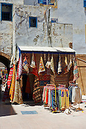 Traditional Berber shops in the medina of  Essaouira, Morocco .<br /> <br /> Visit our MOROCCO HISTORIC PLAXES PHOTO COLLECTIONS for more   photos  to download or buy as prints https://funkystock.photoshelter.com/gallery-collection/Morocco-Pictures-Photos-and-Images/C0000ds6t1_cvhPo