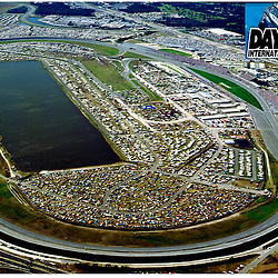 Aerial views of Daytona international Raceway, Florida