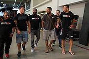 Fabricio Werdum arrives for the UFC weigh-in at the Mexico City Arena in Mexico City, Mexico on June 12, 2015. (Cooper Neill)