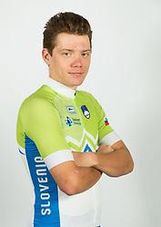 Izidor Penko during photo session of Slovenian Cycling Team for 2018 UCI Road World Championships Innsbruck, on September 17, in Spodnji Brnik, Slovenia. Photo by Vid Ponikvar / Sportida