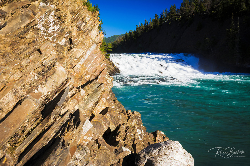 Bow Falls, Banff National Park, Alberta, Canada