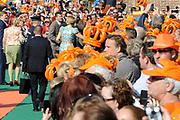 Koningsdag 2014 in de Rijp, het vieren van de verjaardag van de koning. / Kingsday 2014 in the Rijp , celebrating the birthday of the King.