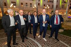 ADRIANO GALLIANI GIOVANNI CARNEVALI STEFANO BONACCINI<br /> CALCIOMERCATO 2020 RIMINI<br /> RIMINI 01-09-2020<br /> FOTO FILIPPO RUBIN / MASTER GROUP SPORT