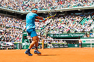 Raphael Nadal (esp) during the Roland Garros French Tennis Open 2018, day 9, on June 4, 2018, at the Roland Garros Stadium in Paris, France - Photo Pierre Charlier / ProSportsImages / DPPI