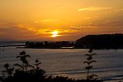 Golden Sunset over Dana Point