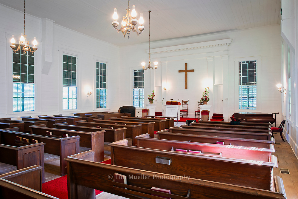 In Desoto parish the historic and beautiful village of Keachi, Louisiana is a place lined with plantation homes and charming churches. Including the Greek Revival styled Keachi Presbyterian Church built in 1858.