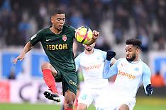 Marseille vs Monaco - 13 Jan 2019