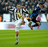 Giorgio Chiellini Juventus.Calcio Juventus vs Atalanta.Serie A - Torino 16/12/2012 Juventus Stadium .Football Calcio 2012/2013.Foto Federico Tardito Insidefoto.