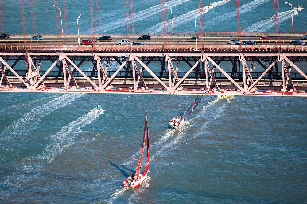 © Maria Muina I MAPFRE. Start of Leg 2 from Lisbon to Cape Town. Salida de la etapa 2 de Lisboa a Ciudad del Cabo.