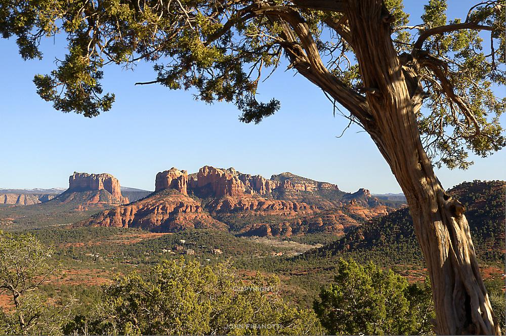 A scene near Sedona Arizona