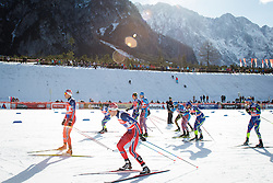 Ski runners during the Man's team sprint race at FIS Cross Country World Cup Planica 2016, on January 17, 2016 at Planica, Slovenia. Photo by Ziga Zupan / Sportida