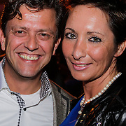 NLD/Amsterdam/20121013- LAF Fair 2012 VIP Night, Susan Rastin en partner