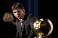 Fotball<br /> Foto: imago/Digitalsport<br /> NORWAY ONLY<br /> <br /> 06.12.2009  <br /> Lionel Messi (FC Barcelona) wird als Europas Fußballer des Jahres 2009 mit dem Ballon d or  ausgezeichnet - JBAutissier