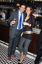 EDWARD TAYLOR and LADY KATE FORTESCUE at a party to launch the Frankie's TLC Card and the TLC Clubcard held at Frankie's Knightsbridge, 3 Yeomans Row, London SW3 on 1st February 2006.<br /><br />NON EXCLUSIVE - WORLD RIGHTS