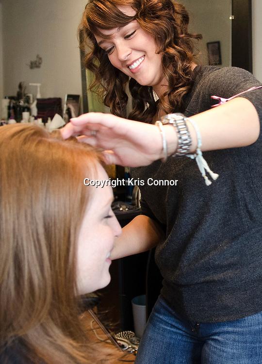Renee Ellison of Fringe Hair Studio in Geogetown in Washington DC. Photo by Kris Connor