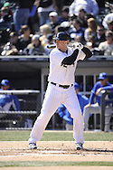 CHICAGO - APRIL 04:  Adam Dunn #32 of the Chicago White Sox bats against the Kansas City Royals on April 4, 2013 at U.S. Cellular Field in Chicago, Illinois.  The Royals defeated the White Sox 3-1.  (Photo by Ron Vesely)   Subject: Adam Dunn