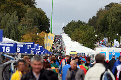 Place during the Men´s Under 23 Road Race on day five of the UCI Road World Championships on September 23, 2011 in Copenhagen, Denmark. (Photo by Marjan Kelner / Sportida Photo Agency)