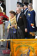 Prinsjesdag 2007 in The Hague. <br /> <br /> On the Photo:  Pieter van Vollenhoven en prinses Margriet.