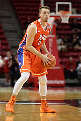 21 November 2015: Asa Cantwell(3). Illinois State Redbirds host the Houston Baptist Huskies at Redbird Arena in Normal Illinois (Photo by Alan Look)