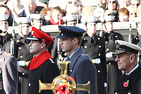 Prince Edward; Prince William; Prince Philip Remembrance Sunday - Cenotaph Service, Whitehall, London, UK. 13 November 2011. Contact rich@pictured.com +44 07941 079620 (Picture by Richard Goldschmidt)
