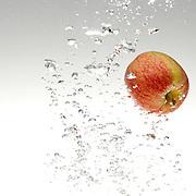 Apple falling in water, The Hague 2014