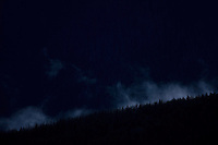Clouds rising from ancient spruce forest. Western Tatras, Slovakia. June 2009. Mission: Ticha