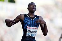 Friidrett ,  11. juni 2015 , Diamond League , Bislett Games , Oslo<br />  Atheltics<br /> 400 m<br /> Steven Gardiner , BAH