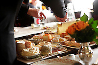 Cheese service at_Le Grand Vefour, Paris