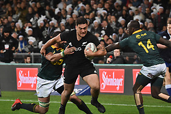 September 16, 2017 - Auckland, New Zealand - Codie Taylor of All Blacks charges forward during the Rugby Championship test match between the New Zealand All Blacks and the South Africa Springboks at QBE stadium in Auckland on Sep 16, 2017. All Blacks beats Springboks 57-0. (Credit Image: © Shirley Kwok/Pacific Press via ZUMA Wire)