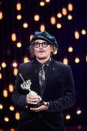 092221 69th San Sebastian International Film Festival: 'Johnny Depp - Donostia Award