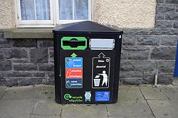 Recycling & rubbish bin, Wales
