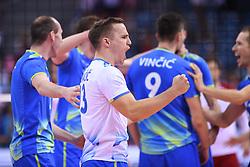 Janik Kovacic of Slovenia during the CEV Volleyball European Championship game Poland - Slovenia on August 30, 2017 in Krakow, Poland. (Photo by Krzysztof Porebski / Press Focus)