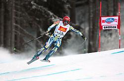 18/12/2010 ALPINE SKI WORLD CUP VAL GARDENA 2010 FIS SKI WELT CUP - Downhill. .JERMAN Andrej of Slovenia.© Photo Pierre Teyssot / Sportida.com.