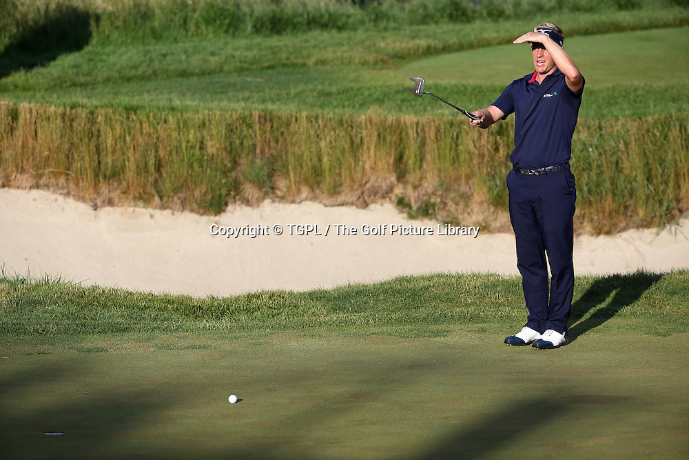 Luke DONALD (ENG) during fourth round  US Open Championship 2013,Merion,East Course,Ardmore,PA,USA.