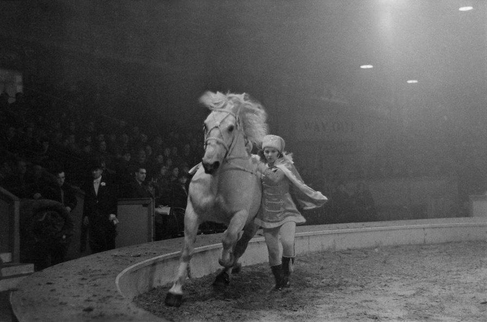 Riders, Hagenbeck Circus, London, England, 1935