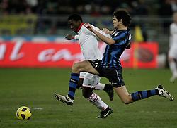 Bari (BA), 03-02-2011 ITALY - Italian Soccer Championship Day 23 - Bari VS Inter..Pictured: Ranocchia I).Photo by Giovanni Marino/OTNPhotos . Obligatory Credit