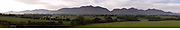 A panorama view of The McGillycuddy Reeks.<br /> Picture by Don MacMonagle