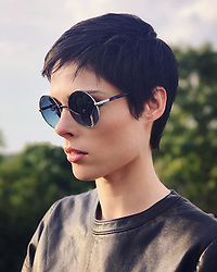 "Coco Rocha releases a photo on Instagram with the following caption: ""So long New York, next stop Paris!! \u2708\ufe0f @swarovski @marcolin_eyewear amazing shades #sunglasses #partner #swarovski #marcolin"". Photo Credit: Instagram *** No USA Distribution *** For Editorial Use Only *** Not to be Published in Books or Photo Books ***  Please note: Fees charged by the agency are for the agency's services only, and do not, nor are they intended to, convey to the user any ownership of Copyright or License in the material. The agency does not claim any ownership including but not limited to Copyright or License in the attached material. By publishing this material you expressly agree to indemnify and to hold the agency and its directors, shareholders and employees harmless from any loss, claims, damages, demands, expenses (including legal fees), or any causes of action or allegation against the agency arising out of or connected in any way with publication of the material."