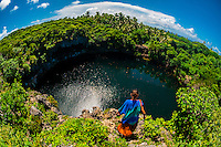 Turtle Hole, Weneki (Anep), island of Ouvea, Loyalty Islands, New Caledonia