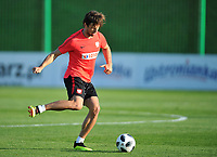 ARLAMOW, POLAND - MAY 30: Grzegorz Krychowiak during a training session of the Polish national team at Arlamow Hotel during the second phase of preparation for the 2018 FIFA World Cup Russia on May 30, 2018 in Arlamow, Poland. MB Media