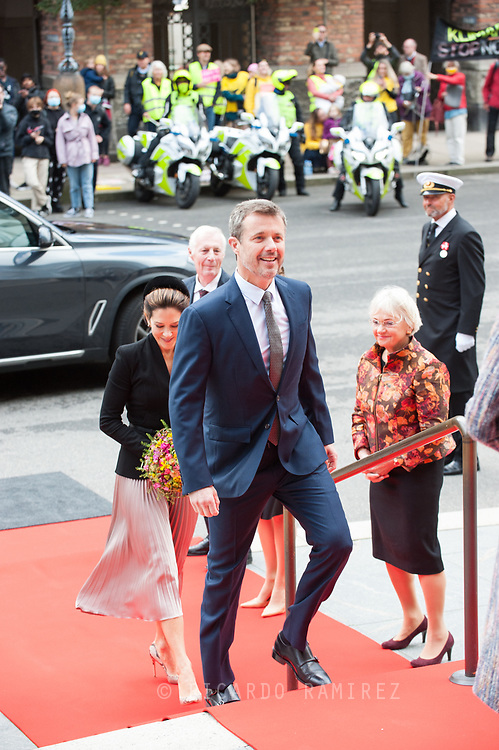 06.10.2020. Copenhagen, Denmark.<br /> Crown Prince Frederik's arrival to Christiansborg Palace for attended the opening session of the Danish Parliament (Folketinget).<br /> Photo: © Ricardo Ramirez