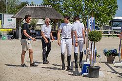 Philippaerts Thibault, Philippaerts Anthony, Philippaerts Olivier, BEL<br /> Belgisch Kampioenschap - Azelhof 2019<br /> © Hippo Foto - Dirk Caremans