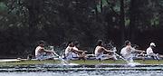 Lucerne, SWITZERLAND GBR M4-, Nick BURFITT, Peter MULKERRINS, Simon BERRISFORD and Stroke Terry DILLON. 1992 FISA World Cup Regatta, Lucerne. Lake Rotsee.  [Mandatory Credit: Peter Spurrier: Intersport Images] 1992 Lucerne International Regatta and World Cup, Switzerland