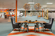 Interior of the office at Acumen Brands in Fayetteville, Ark.