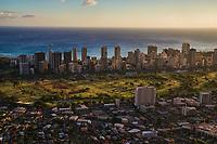 Waikiki Skyline & Ala Wai Community Park