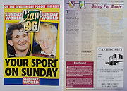 All Ireland Senior Hurling Championship - Final,.01.09.1996, 09.01.1996, 1st September 1996,.01091996AISHCF, .Wexford v Limerick,.Wexford 1-13, Limerick 0-14,.Sunday World, .Castlecabin, Tom Chawke Caravans LTD, Castletroy, Limerick,