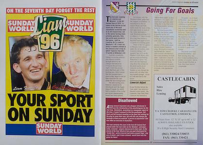 All Ireland Senior Hurling Championship - Final,.01.09.1996, 09.01.1996, 1st September 1996,.01091996AISHCF, .Wexford v Limerick,.Wexford 1-13, Limerick 0-14,.Sunday World, .Castlecabin, Tom Chawke Caravans LTD, Castletroy, Limerick,