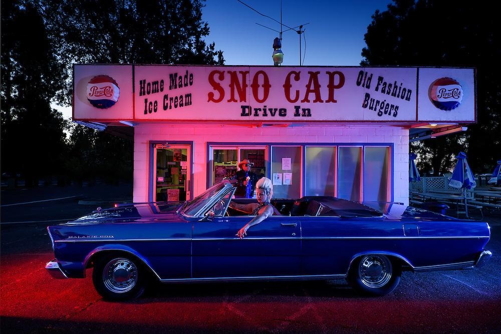 American Dreamscapes / Sno Cap III