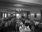21/07/1958<br /> 07/21/1958<br /> 21 July 1958<br /> Views of Hotel Pierre  in Dun Laoghaire, Dublin. The restaurant.