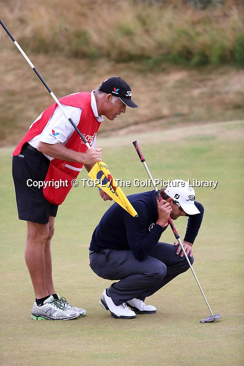 Adam SCOTT (AUS) during fourth round Open Championship 2013,Muirfield,Gullane,East Lothian,Scotland.